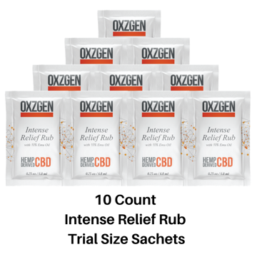 Picture of Intense Relief Rub Trial Size Sachets